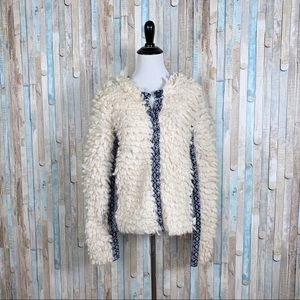 Odd Molly 2 M Fuzzy Loop Cardigan Sweater Jacket